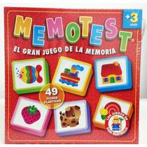 Memotest Ruibal El Gran Juego De La Memoria Original