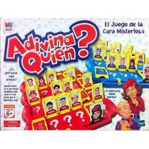 Adivna Quien - Juego De Mesa Original Hasbro - Tv