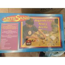 Jugando Con Yeso Y Arcilla- Artesano - Habano