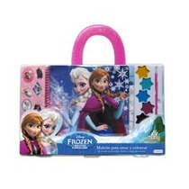 Maletin Para Crear Y Colorear Frozen Tapimovil Disney