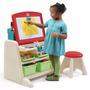 Escritorio Didáctico Infantil Step2 Flip & Doodle Easel Desk