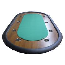 Tapa Para Mesa Poker 10 Jugadores Con Posavasos - Fabrica