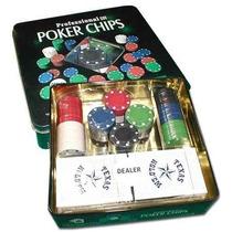 Fichero Poker 100 -2 4 Gr En Lata Con Naipes