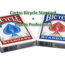 Cartas Bicycle Standard + Tapete Profecional