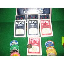 12 Mazos Naipes Copag Truco Original $ 144+cartulina 300gr