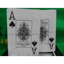 Cartas 100% Plástico - Royal- $ 73,99 - Original- Poker
