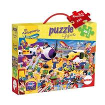 Rompezabezas Puzzle 36 Piezas Gigante Original De Antex