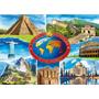Rompecabezas Ravensburger De 1000 Piezas: 7 Maravillas Mundo