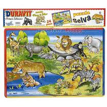 Puzzle Cuadro Zoo 24 Piezas Duravit Ploppy 185004
