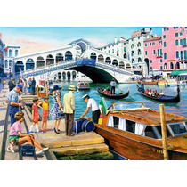 Rompecabezas Ravensburger De 1000 Piezas: Venecia Vintage