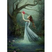 Rompecabezas Heye De 1000 Piezas: Melanie Delon: Red Bloom