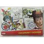 Colorear Y Borrar Toy Story Disney Xml Dts07934