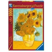 Ravensburger 1000 Piezas Arte Van Gogh Girasoles En La Plata