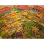 Lote Rompecabezas Puzzle 3d Pooh, Pucca, Frutillitas, Dora