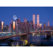 Rompecabezas Ravensburger De 1500 Piezas: Manhattan De Noche