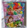 Rompecabezas Princesas Ariel Y La Bellas De 24 Y 36 Piezas