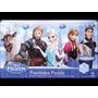 Rompecabeza Frozen 211 Disney 85.6x38.1 3 En 1 Caja De Lata