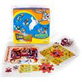 Looney Tunes Rompecabezas - 3 Tableros + 50 Pcs.- 3 En 1.