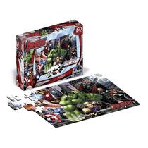 Avengers Rompecabezas Puzzle 60 Piezas Con Licencia Orig.