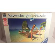 Puzzle Ravensburger 1000pzs Caribeña Boat Milouhobbies R0100