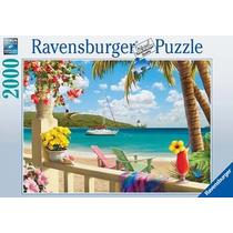Rompecabezas Ravensburger De 2000 Piezas: Paraiso Tropical