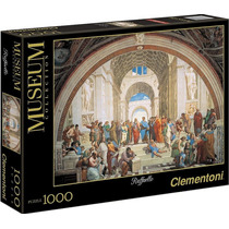 Puzzle Clementoni X 1000 Escuela De Atenas Tuni 31404