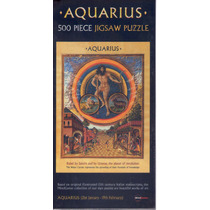 Jr Zoodiaco Aquarius Rompecabezas X 500 Piezas 49 X 35 Cm