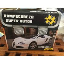 Rompecabeza Super Autos 33x23cm