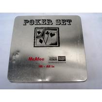 Poker Set N U E V O Origen Americano Caja Aluminio (0541x)