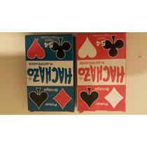 Cartas Poker Achazo Casino Set 4 Mazos