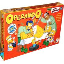 Juego Operando The Simpson Hasbro Zap 9774