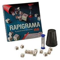Rapigrama Club Ruibal Con Dados Y Reloj De Arena