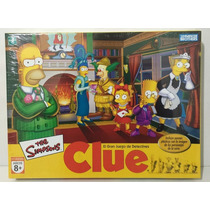 Juego Clue Simpsons Hasbro Tuni 9771
