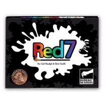 Red7 - Juego De Cartas - Bureau Similar Uno Avanzado Colores