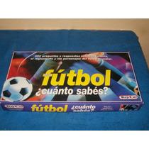 Juego De Mesa Futbol ¿cuanto Sabes?