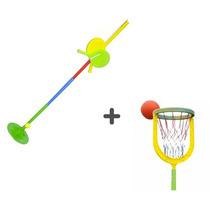 Juego De Basquet Serabot + Juego Tenis Orbital Serabot