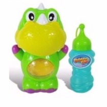 Burbujero A Pilas Bubble Animals Dinosaurio Con Aza Facil