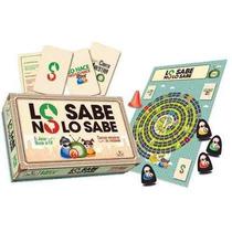 Juego Lo Sabe No Lo Sabe Original Tv Fichas Gato Garabato