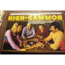 Espectacular Juego De Mesa High-gammon