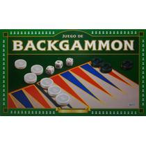 Backggammon Juego De Mesa Implas Original