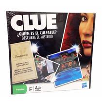 Juego De Mesa Clue Descubre Quién Es El Culpable