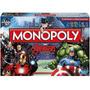 Monopoly Avengers Marvel Original Hasbro Gamming 8+