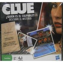 Clue Familiar Juego De Mesa Juguetería El Pehuén