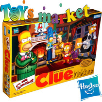 Juego De Mesa Clue De Los Simpsons Detectives De Hasbro