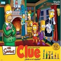 Juego Clue The Simpsons Original.