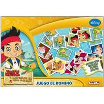 Juego De Dominó Jake Y Los Piratas Original De Toyco
