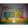 Juego Domino Reversible De Barney Para Niños Hasbro
