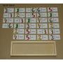 Domino Ingles Número-palabra 28 Pzas. Madera Mat Didáctico