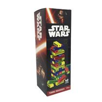 Star Wars Torre Movediza Tipo Jenga Para Niños Lic.original