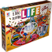 Juego De La Vida Life The Simpsons Homero Simpson De Hasbro